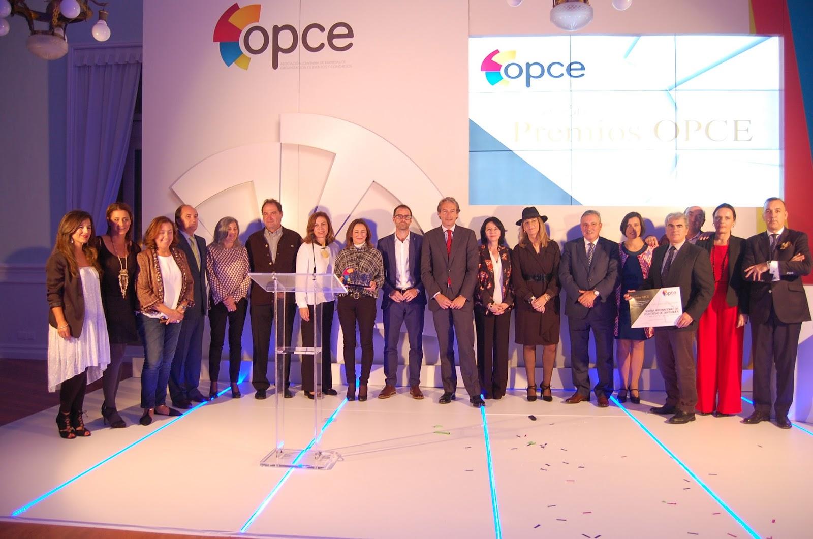 """Organización de evento """"Premios OCPE Cantabria 2016"""""""