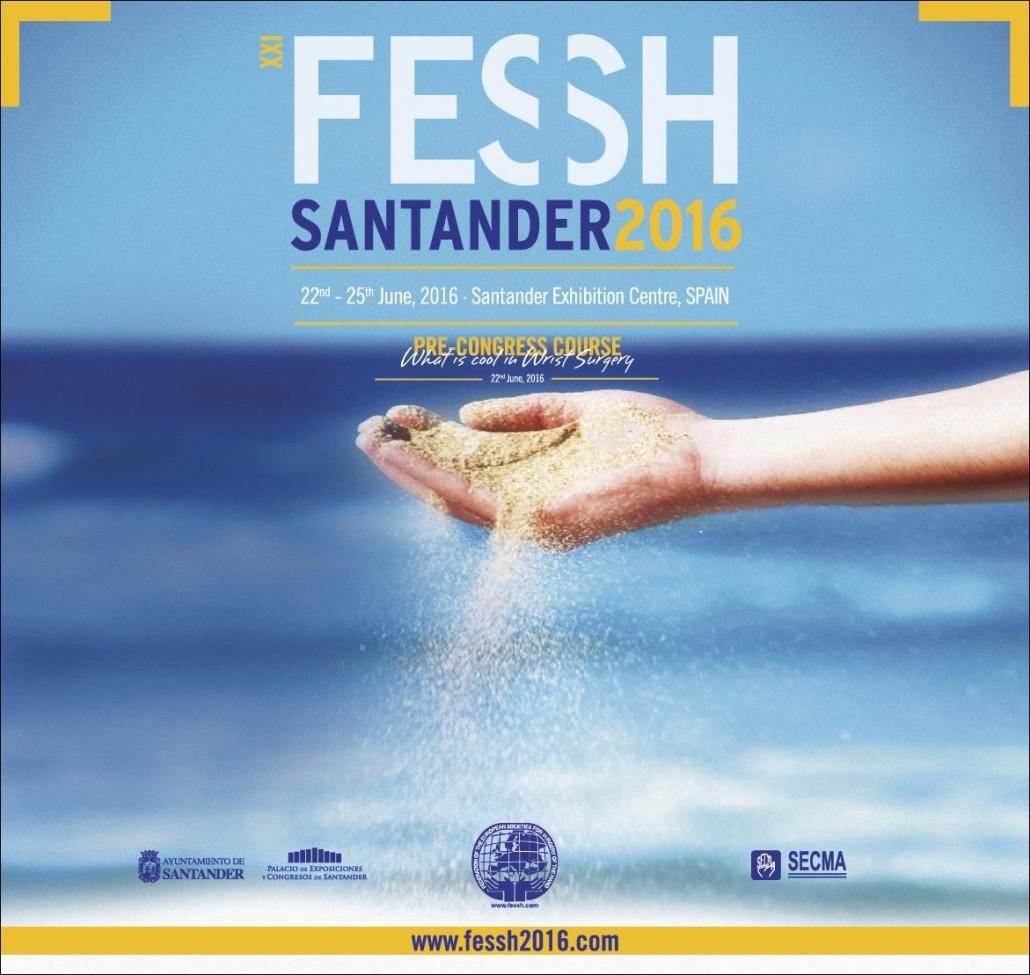 """Organización de congreso en Santander """"XXI FESSH Santander 2016"""""""